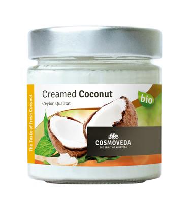 Creamed Coconut / Kokosmus (190g) (Bio) - Cosmoveda