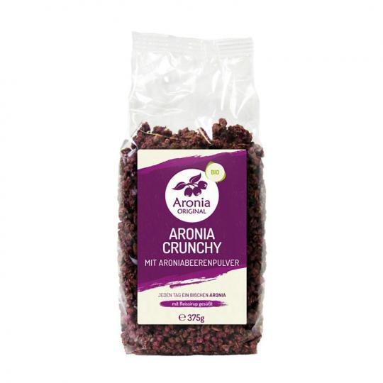 MHD 10/2019 ... Aronia Crunchy (Bio) (375g) - Aronia ORIGINAL