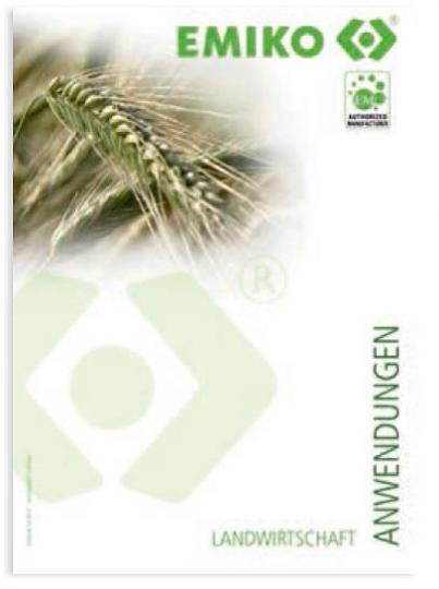 Broschüre EMIKO Anwendungen (Landwirtschaft)