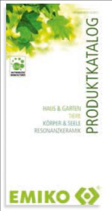 Broschüre EMIKO Produktkatalog