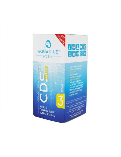 No 3 CDS plus (250 ml) - AQUARIUS pro life