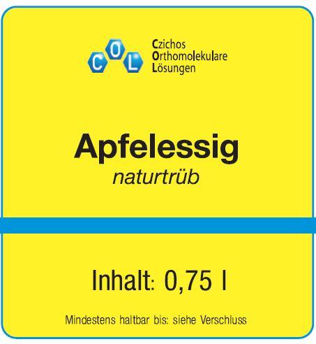 Apfelessig naturtrüb (750 ml) - COL