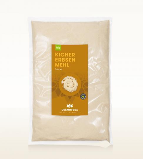 Kichererbsen-Mehl 1 kg - Cosmoveda
