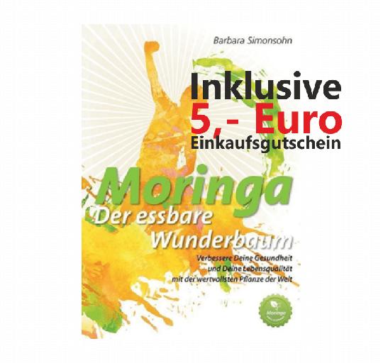 Moringa E-Book (PDF) mit 5 Euro Einkaufsgutschein