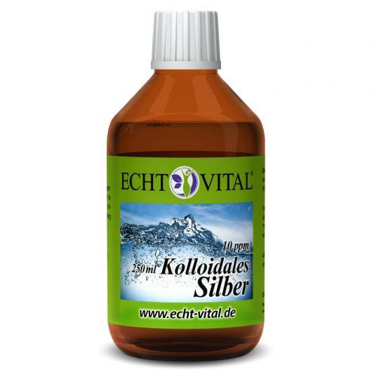 Kolloidales Silber - 10 ppm - (250ml) - Echt Vital