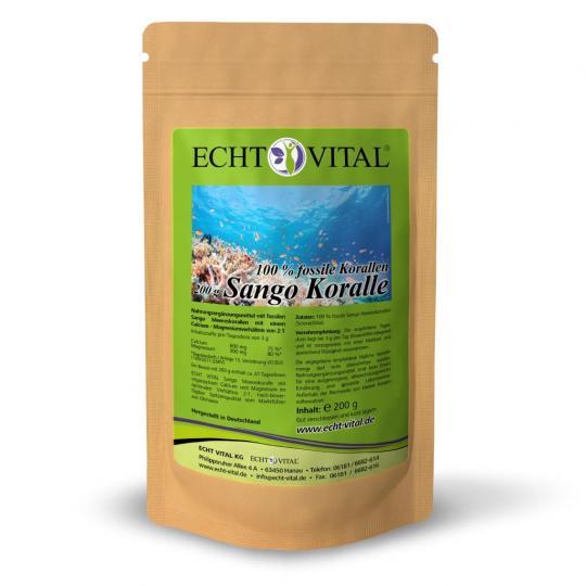 Sango Koralle (200g Beutel) - Echt Vital