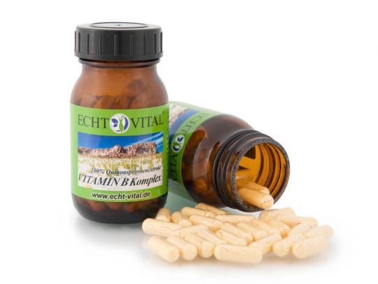 Vitamin B Komplex - (60 Kapseln) - Echt Vital