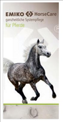 Flyer EMIKO HorseCare (Systempflege Pferde)