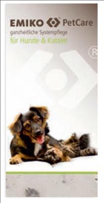 Flyer EMIKO PetCare Hunde und Katzen