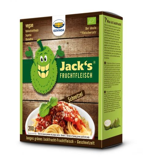 MHD* 03/20 ... Jackfrucht-Fruchtfleisch (Geschnetzeltes) (210g) BIO - Govinda