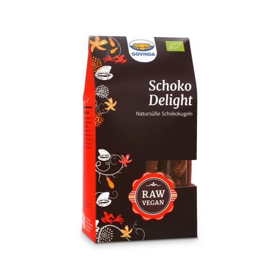 Schoko Delight Kugeln (Bio) (120g) - GOVINDA