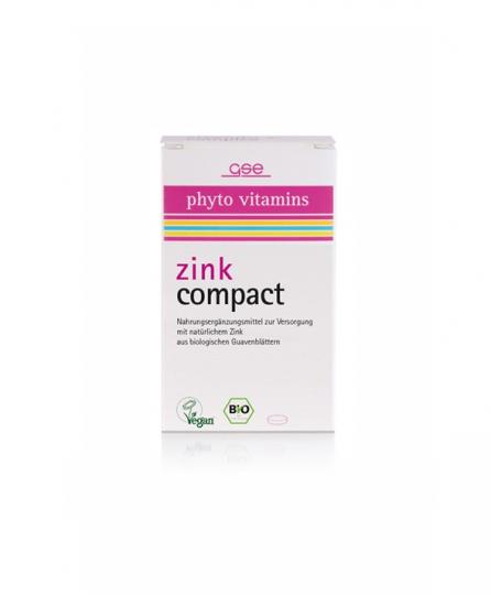 Zink Compact (60 Tbl.) - GSE