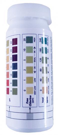 Chlordioxid Teststreifen (50 Stück) . Jim Humble Verlag