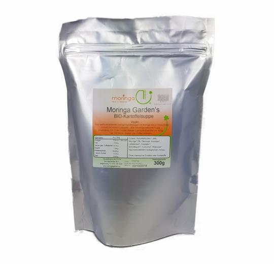 MHD 10/18 ... Kartoffelsuppe (Bio) (300g) vegan - MoringaGarden