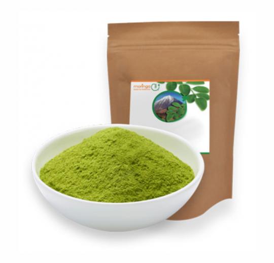 Moringa Auslese Blattpulver (Bio) (500g) - MoringaGarden