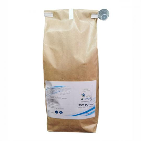 MSM Pulver (1kg) im Beutel - VITAL ENGEL