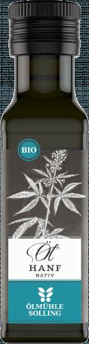 Hanf-Öl NATIV (100 ml) (Bio) - Ölmühle Solling