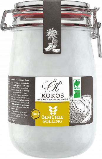 Kokosöl (1.000 ml) - Ölmühle Solling