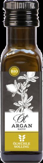 MHD 05/19 ... Argan-Öl nativ 100ml (Bio) - Ölmühle Solling