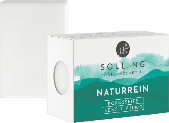 Naturreine Kokosseife (100g) - Solling Naturkosmetik
