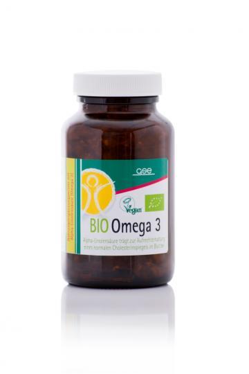 Omega 3 - Perillaöl Kapseln (Bio) (150 Kaps./90 g) - GSE