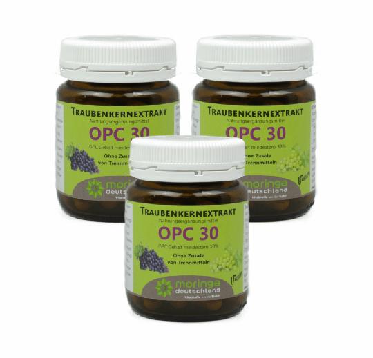 OPC 30 Kapseln (60 Stück) - 3er Pack  - Moringa Deutschland