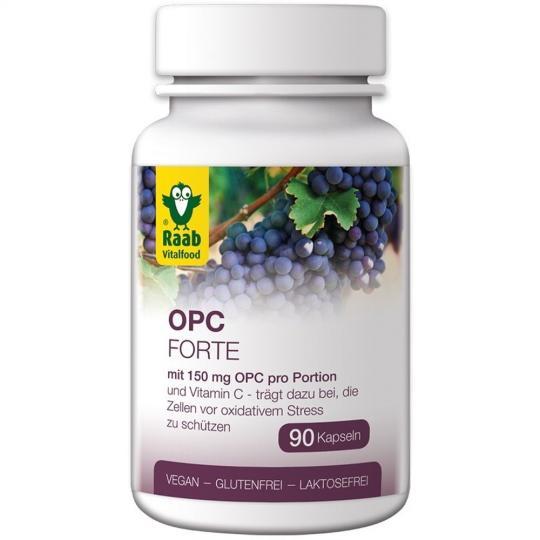 OPC Forte Kapseln (Bio) (90 Stück) - Raab Vitalfood