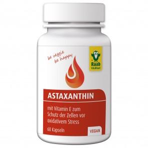 Astaxanthin (60 Kapseln) - Raab Vitalfood