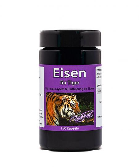 Eisen (50 mg) für Tiger (150 Kps.) by Robert Franz