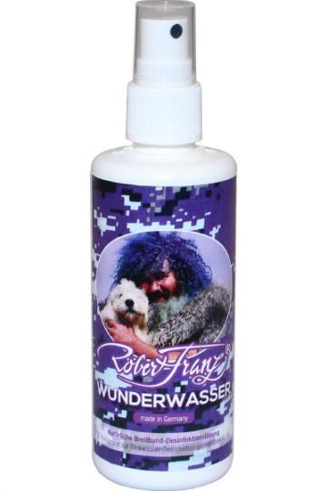 Robert Franz Wunderwasser (100 ml) - Natürliche Breitband-Desinfektionslösung