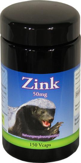 Zink 50 mg - 150 Kapseln by Robert Franz