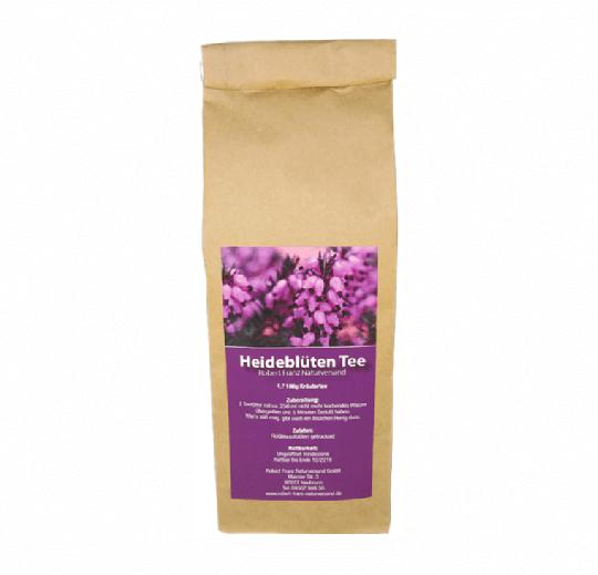 MHD* 01/19 ... Heidekraut / Heideblüten Tee (100g Tüte) - Robert Franz