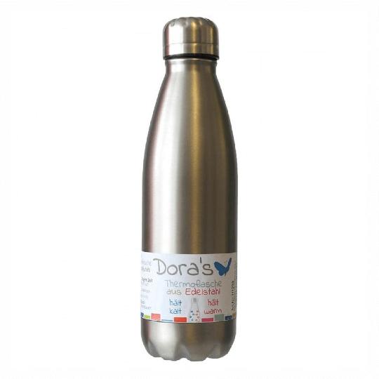 Edelstahl Thermoflasche steel (750 ml) - DORAs