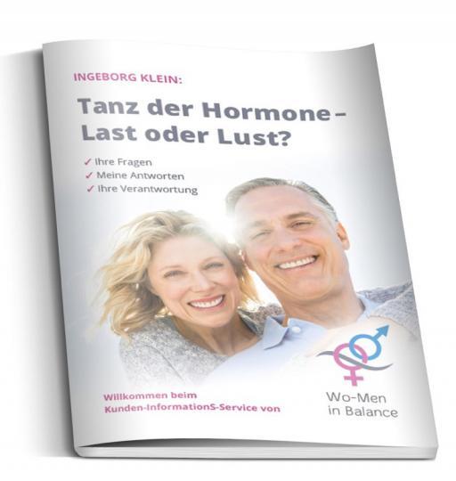 """Infobroschüre """"Tanz der Hormone"""" (Wo-Men in Balance)"""