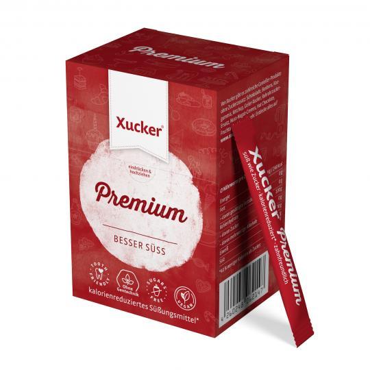MHD* 02/20 ... Xucker Premium-Sticks (finnisches Xylit) (50 Sticks à 4g) - Xucker