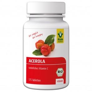 Acerola Tabletten (Bio) 175 Stück - Raab Vitalfood