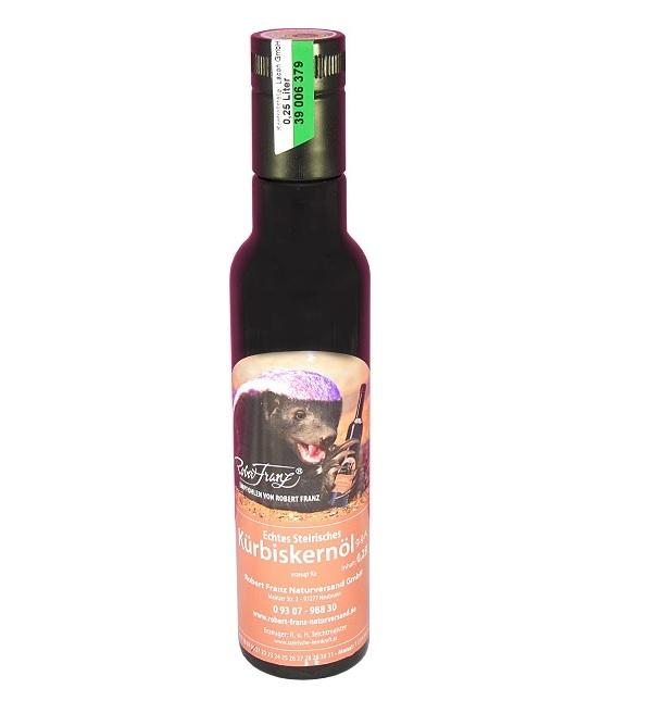 Echtes Steirisches Kürbiskernöl (250 ml) empfohlen von  Robert Franz