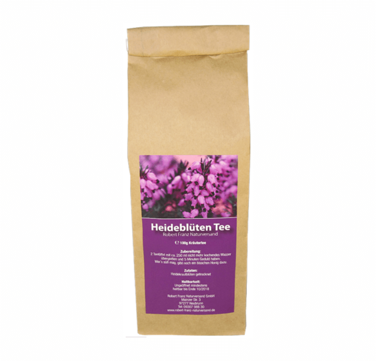Heidekraut / Heideblüten Tee (100g Tüte)