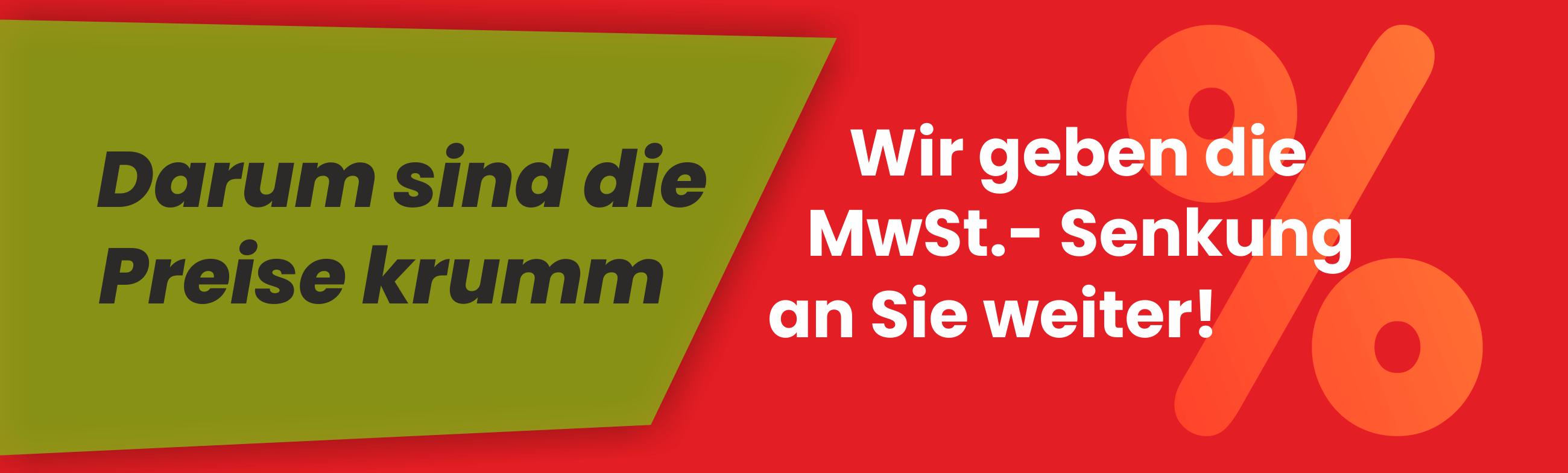Banner MwSt